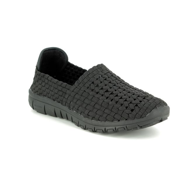 Heavenly Feet Trainers - Black - 9103/30 COSMOS
