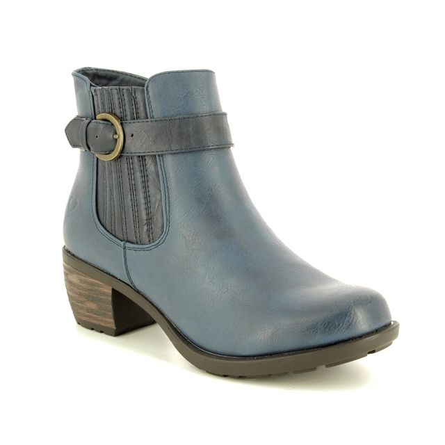 Heavenly Feet Danni 8506-70 Blue ankle boots