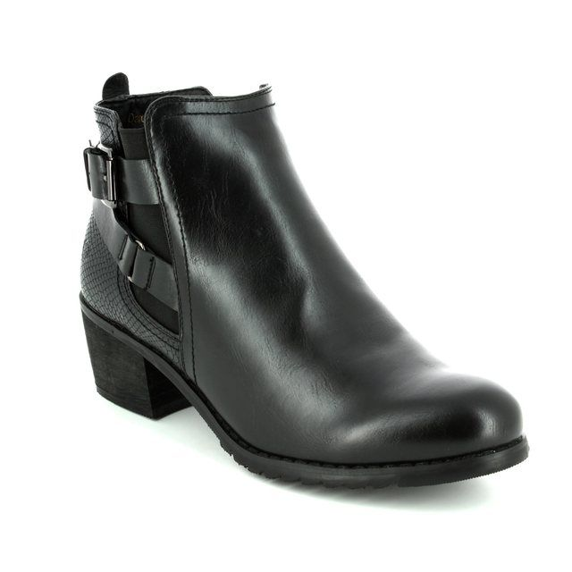 Heavenly Feet Ankle Boots - Black - 7207/30 DARCY 2