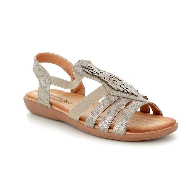 Heavenly Feet Sandals - Stone - 8108/53 KARINA