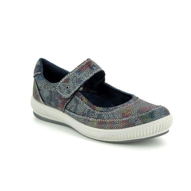 Heavenly Feet Mary Jane Shoes - Blue multi - 9107/72 MADONNA