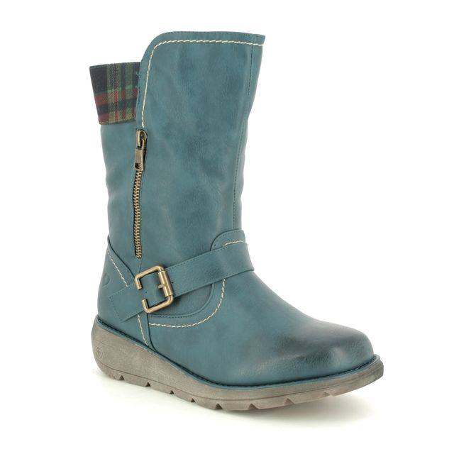 Heavenly Feet Ankle Boots - Teal blue - 9518/73 PACIFIC 3
