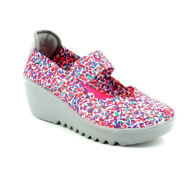 Heavenly Feet Trainers - Pink multi - 5000/60 RAINBOW
