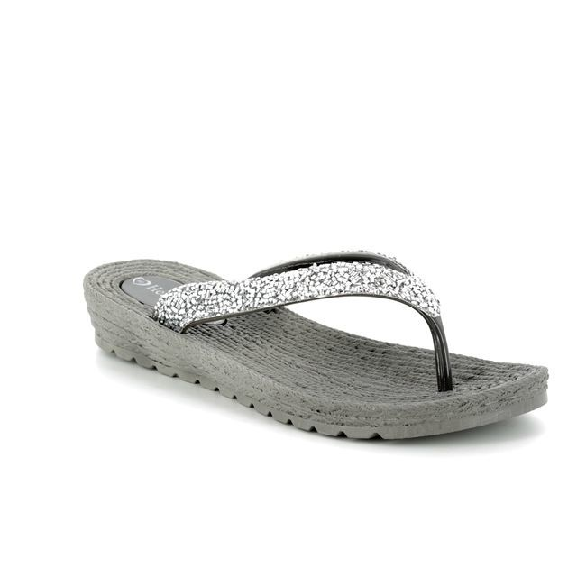 Heavenly Feet Sandals - Silver - 8114/01 RIGA