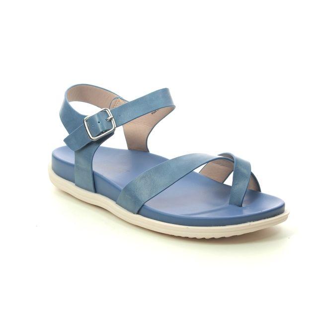 Heavenly Feet Flat Sandals - Blue - 0112/72 RIVER