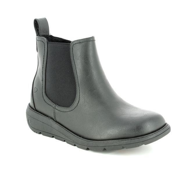 b8620ccc403 Ara Portland Brogu 60004-75 Grey patent Chelsea Boots