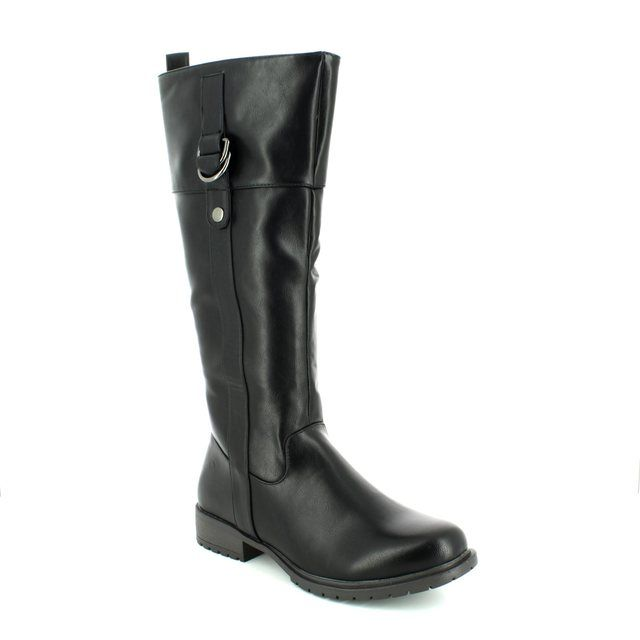 Heavenly Feet Knee-high Boots - Black - 7223/30 SADDLE 5