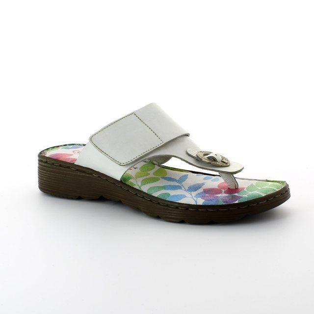 Heavenly Feet Sarah 4005-60 White sandals
