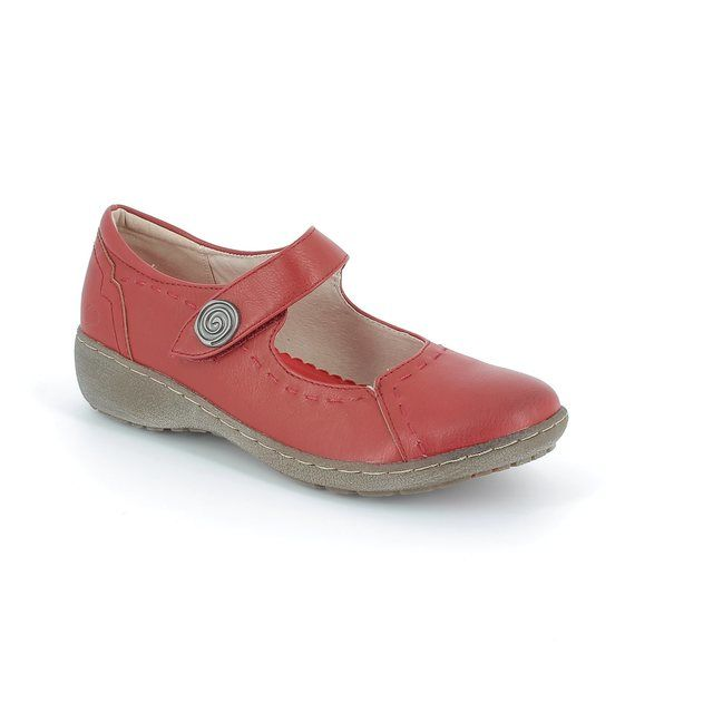 Heavenly Feet Scarlet 61 5005-80 Red comfort shoes