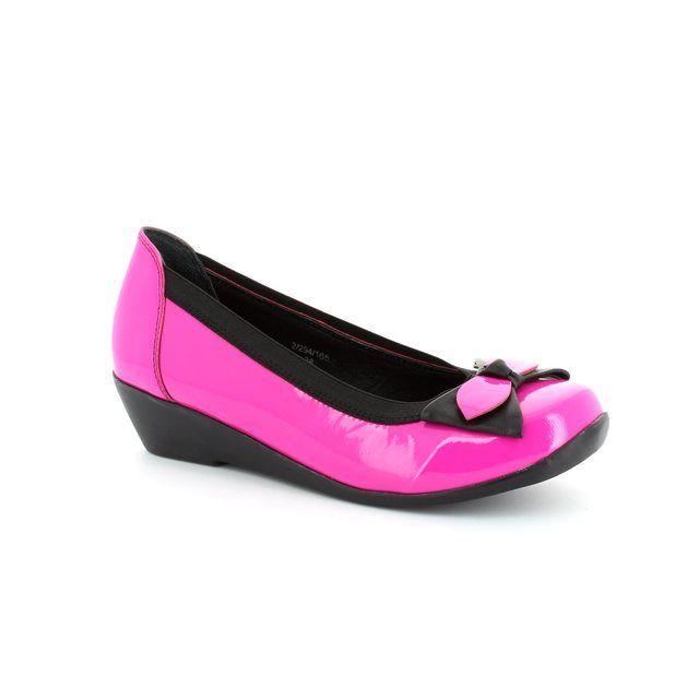 Heavenly Feet Simone 2 4011-60 Pink pumps