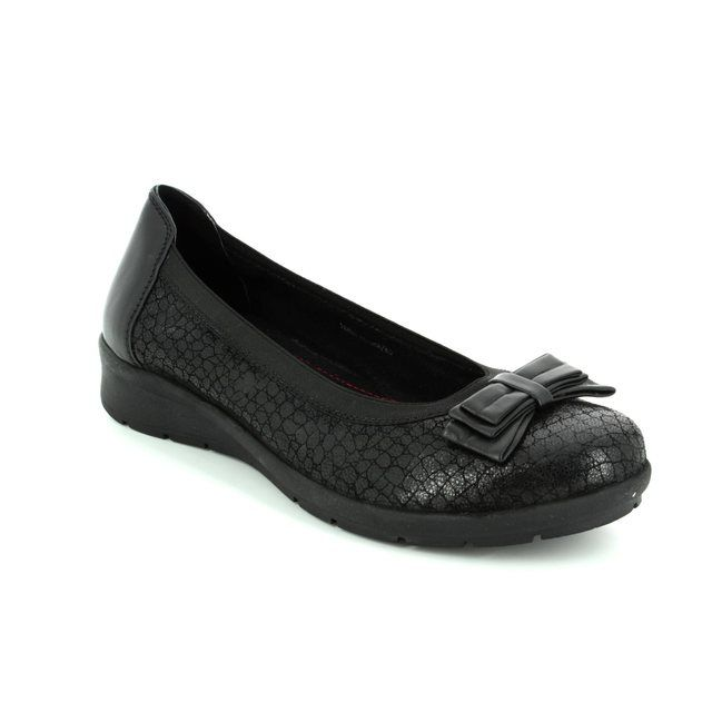 Heavenly Feet Pumps - Black - 7227/30 STATEN