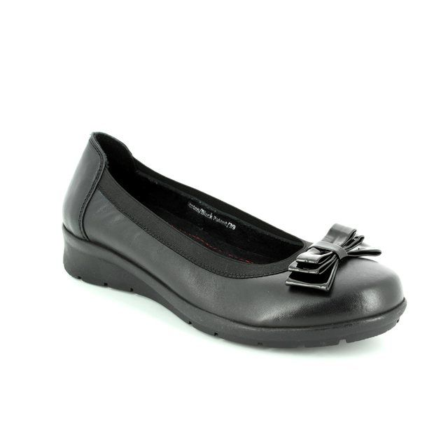 Heavenly Feet Pumps - Black patent - 7227/40 STATEN