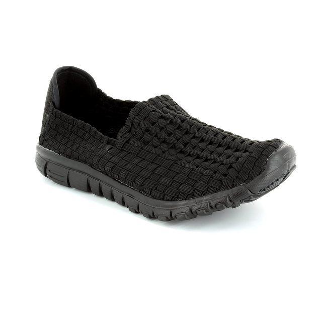 Heavenly Feet Stomp 5001-30 Black trainers