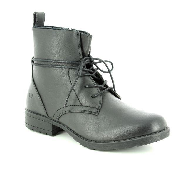 Heavenly Feet Strut 2 8513-30 Black ankle boots