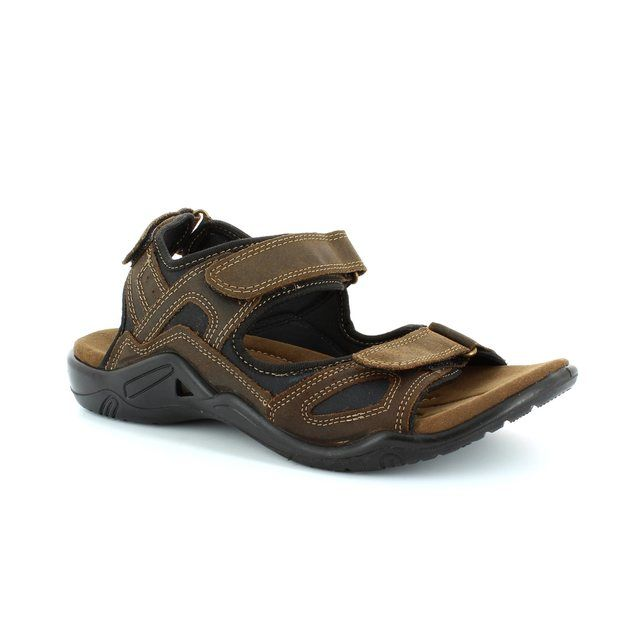 Heavenly Feet Tracker 4016-20 Brown sandals