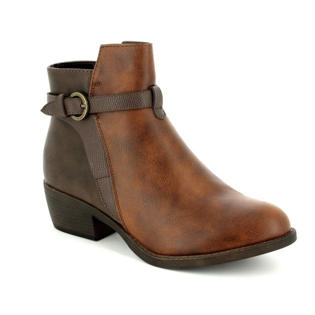 Heavenly Feet Ankle Boots - Tan - 7215/20 TYLER