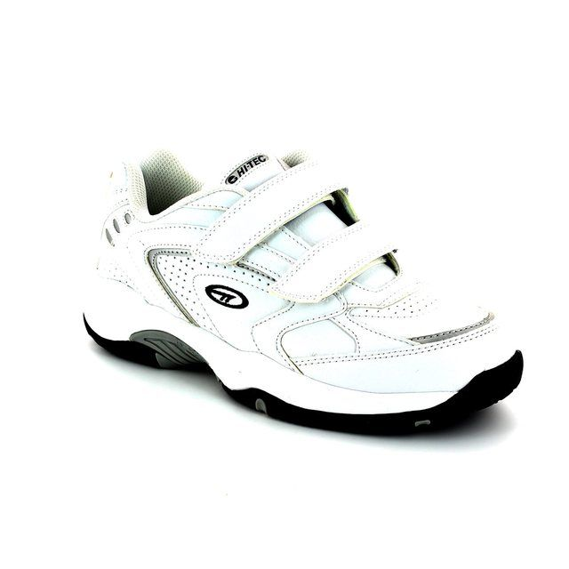 Hi-Tec Blast Ez Velcr 4415-01 White trainers