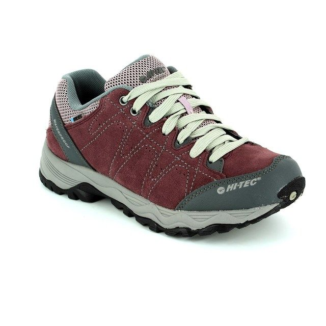 Hi-Tec Libero 2 Women 5383-90 Purple multi lacing shoes