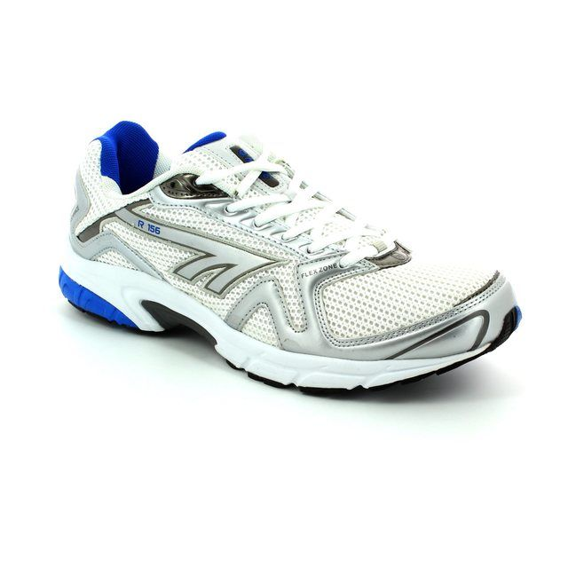 Hi-Tec R156 1742-60 White-blue combi trainers