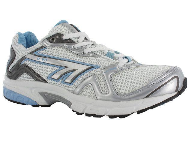 Hi-Tec R157 1758-11 White-blue combi trainers