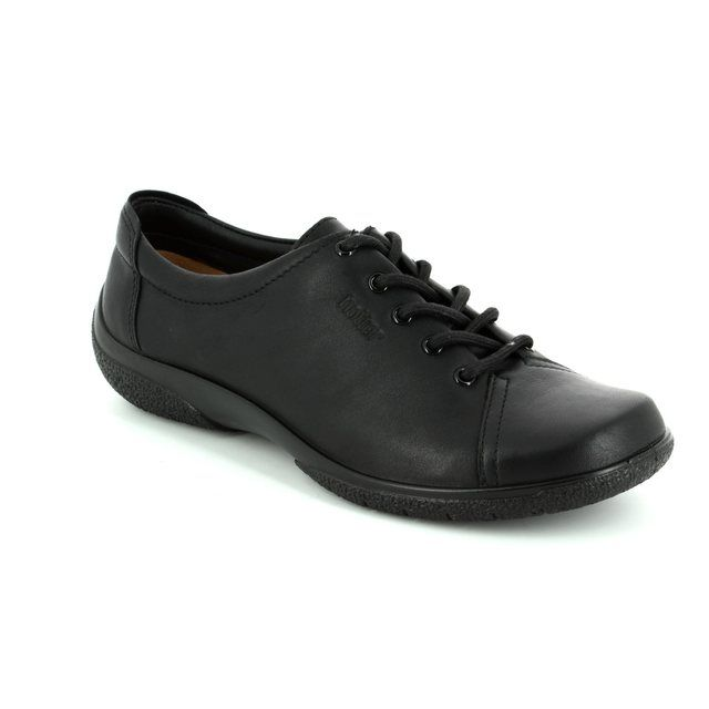Hotter Dew 7206-30 Black lacing shoes