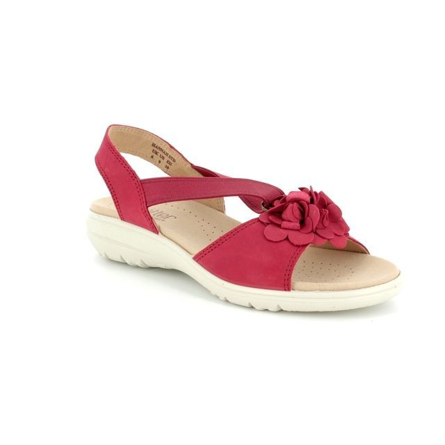 Hotter Sandals - Red - 8108/80 HANNAH E FIT