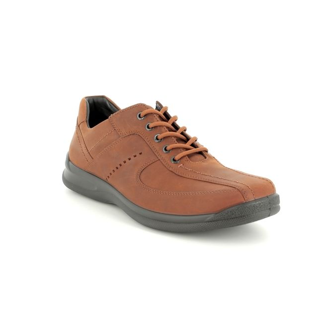 Hotter Casual Shoes - Tan nubuck - 8114/11 LANCE G-H FIT