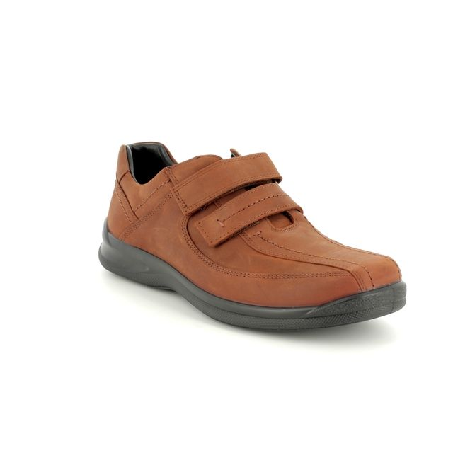 Hotter Casual Shoes - Tan nubuck - 8115/11 MEDWAY G-H FIT