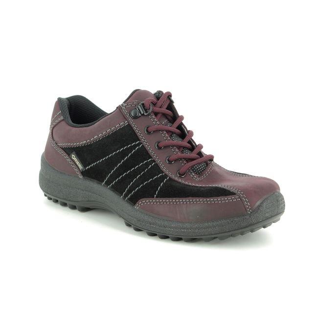Hotter Walking Shoes - Wine nubuck - 9509/81 MIST GTX 95 E