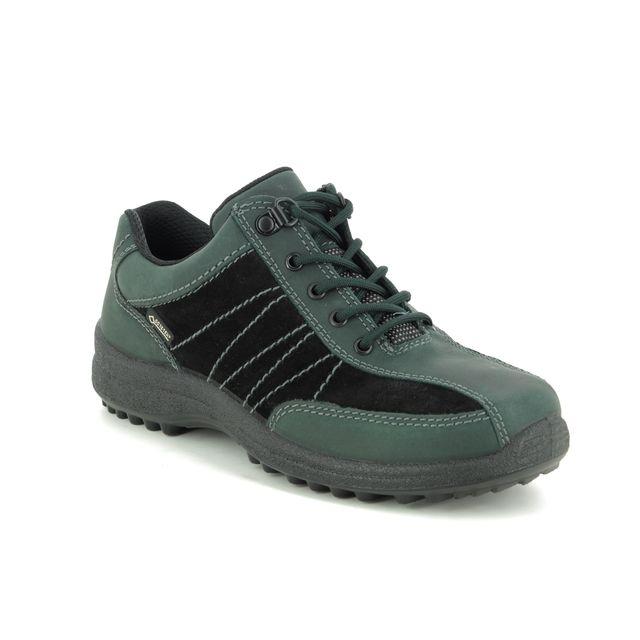 Hotter Walking Shoes - Green Nubuck - 9509/90 MIST GTX 95 E
