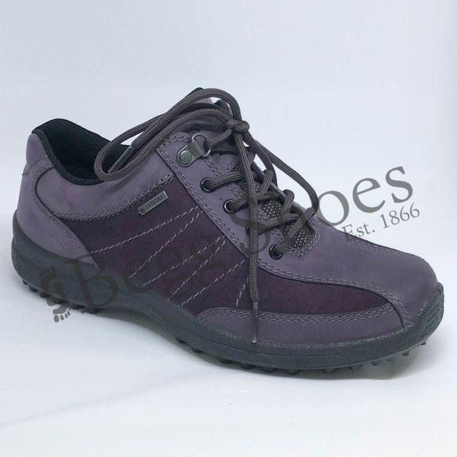 Hotter Walking Shoes - Purple - 8113/95 MIST GTX E FIT