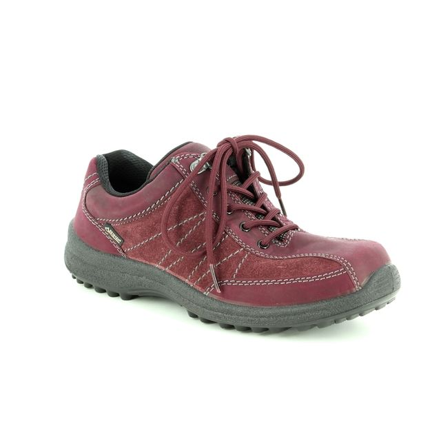 Hotter Walking Shoes - Maroon - 8517/80 MIST GTX E FIT