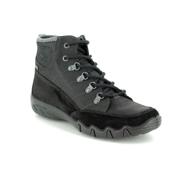 Hotter Walking Boots - Black - 8518/30 MORLAND GTX E