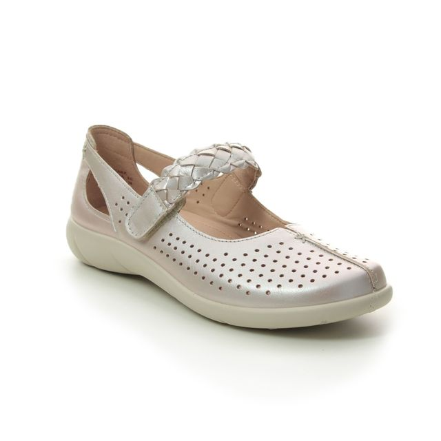 Hotter Mary Jane Shoes - Rose - 0106/51 QUAKE  E FIT