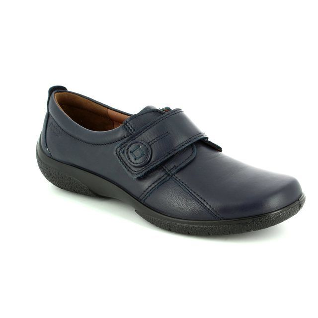 Hotter Comfort Shoes - Navy - 7203/70 SUGAR