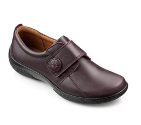 Hotter Sugar 7203-90 Plum comfort shoes