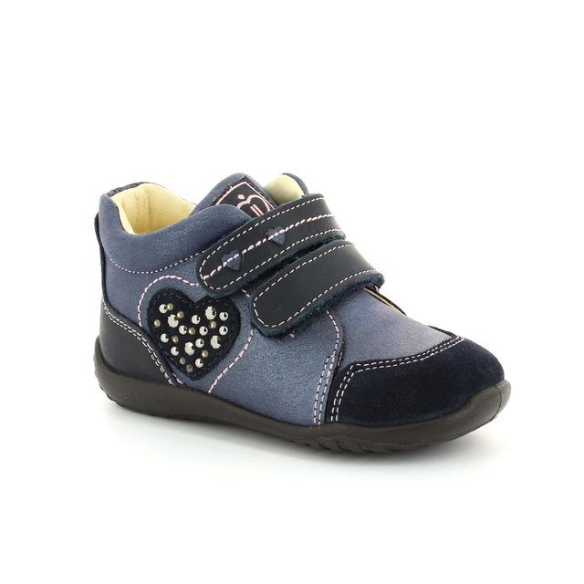 IMAC First Shoes - Navy multi - 44810/1419008 ABC HEARTS
