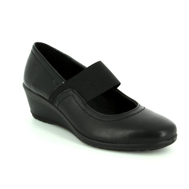 IMAC Wedge Shoes - Black patent - 82100/1400011 AMBRABAR