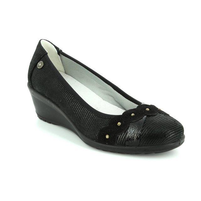 IMAC Wedge Shoes - Black patent/suede - 71920/7453001 AMBRASH