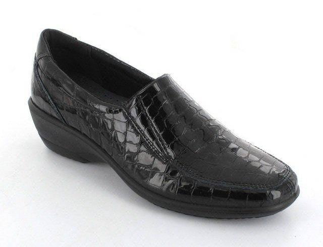 IMAC Ariec 21880-4160001 Black croc comfort shoes