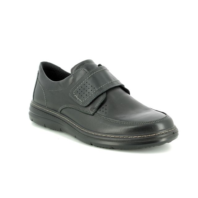 IMAC Formal Shoes - Black leather - 1920/2290011 BELFAST WIDE VEL