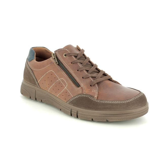 IMAC Casual Shoes - Tan Leather  - 1240/2428009 BEN
