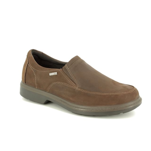 IMAC Casual Shoes - Brown leather - 2618/30053017 BENNET SLIP TE