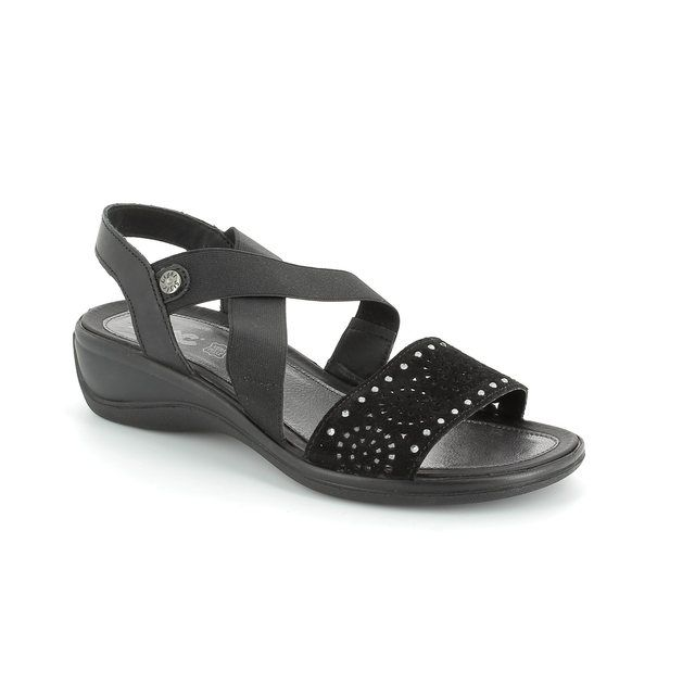 IMAC Cathadi 52661-1950011 Black sandals