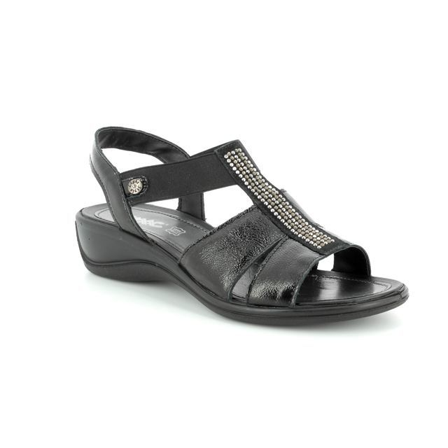 IMAC Sandals - Black patent - 108600/420011 CATHRYN GLITZ