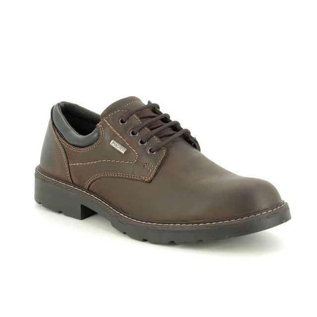 IMAC Formal Shoes - Brown leather - 0968/3503017 COUNTRYROAD TEX