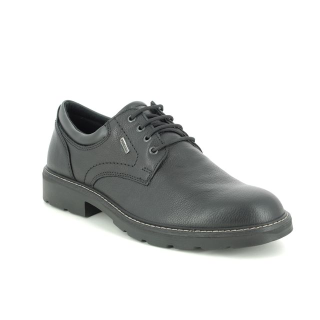 IMAC Formal Shoes - Black leather - 0999/1500011 COUNTRYROAD TEX