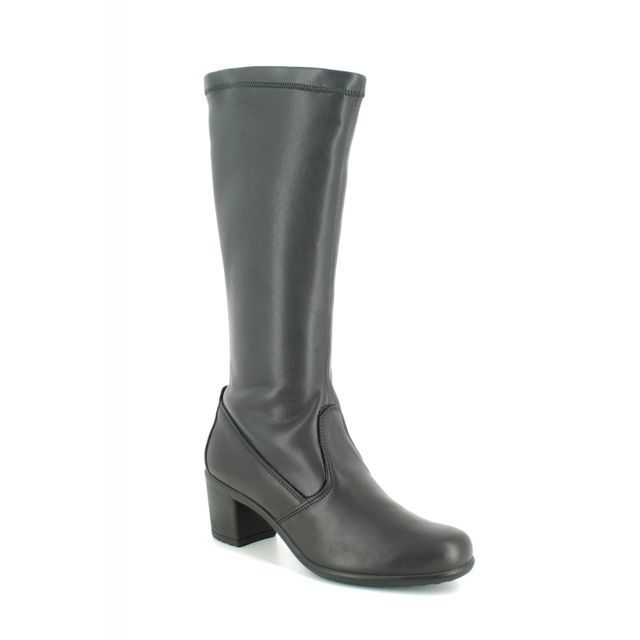 IMAC Knee-high Boots - Black leather - 6000/1400011 DAYTOLONG