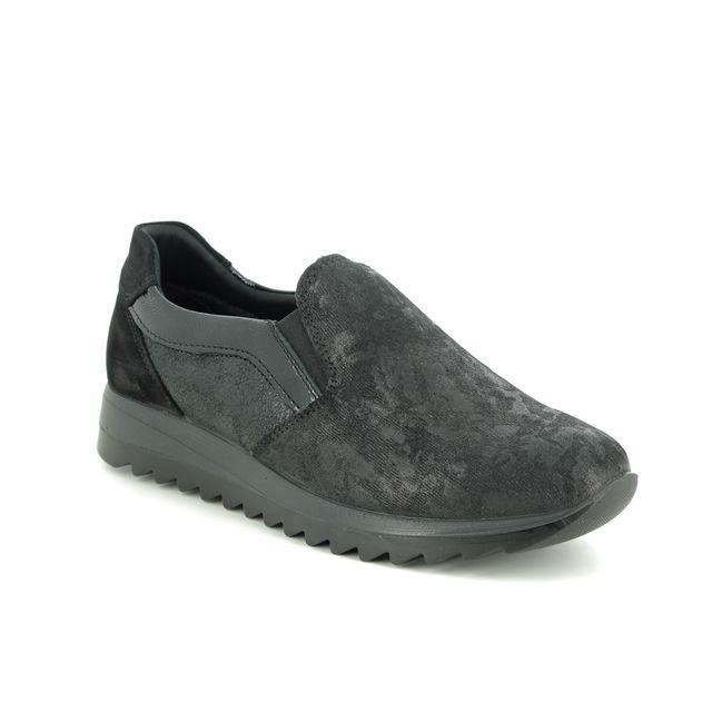 IMAC Comfort Slip On Shoes - Black multi - 8530/74330011 EDEN
