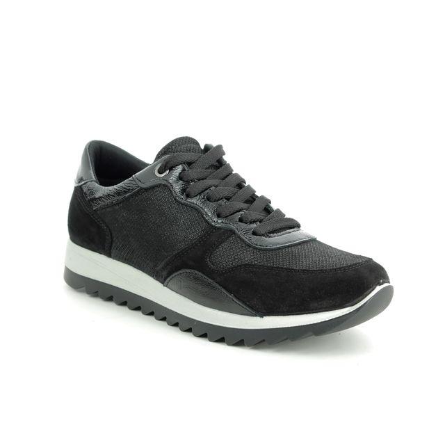 IMAC Trainers - Black suede - 8500/7150011 EDEN   LACE